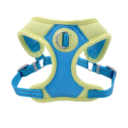 Pro Mesh Harness Aqua/Yellow XS