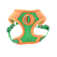 Pro Mesh Harness Lime/Orange XS