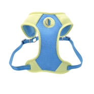 Pro Mesh Harness Aqua/Yellow MED