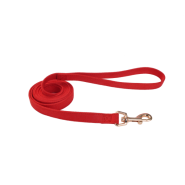 "Accent Microfiber Leash Red 5/8""x6"