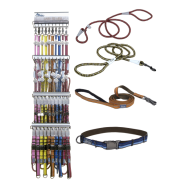 K9 Explorer 5 Color AI Collar & Leash Display