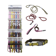 K9 Explorer Six Color AllInclusive Collar/Leash Display
