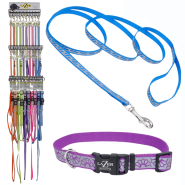 Lazer Brite Collar & Leash Display (choose 4 designs)