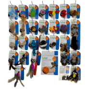 Turbo Cat Toy Display Large 58 pc