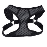 "Comfort Soft Sport Wrap Adj Harness 5/8x16-18"" Grey/Black"