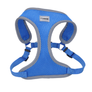 Comfort Soft Mesh Reflective Harness Blue Lagoon Small