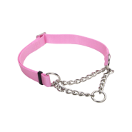 "Adj Check Training Collar 3/4"" Bright Pink 14""-20"""