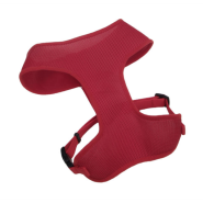"ComfortSoft Adj Harness 3/4x19-23"" Red Small"
