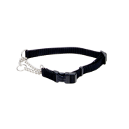 "Adj Check Training Collar w/Buckle 5/8"" Black 18"""