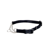 "Adj Check Training Collar w/Buckle 3/4"" Black 22"""