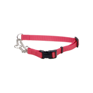 "Adj Check Training Collar w/Buckle 3/4"" Red 22"""