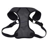"Comfort Soft Sport Wrap Adj Harness 3/4x22-28"" Grey/Black"
