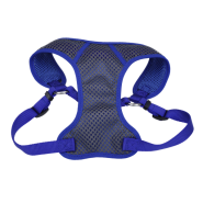 "Comfort Soft Sport Wrap Adj Harness 3/4x22-28"" Grey/Blue"