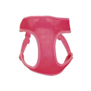 "ComfortSoft Wrap Adj Harness 5/8x19-23"" Bright Pink Small"