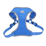 Comfort Soft Mesh Reflective Harness Blue Lagoon Medium