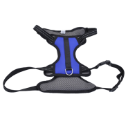 "Reflective Control Handle Harness 26-38"" Blue Large"