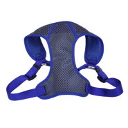 "Comfort Soft Sport Wrap Adj Harness 1x28-36"" Grey/Blue"