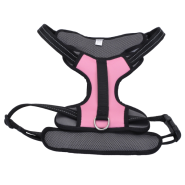 "Reflective Control Handle Harness 30-43"" Pink Xlarge"