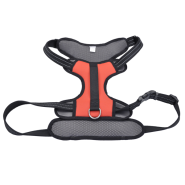 "Reflective Control Handle Harness 30-43"" Red Xlarge"