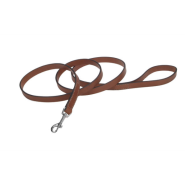 "CircleT Oak Tanned Leather Leash 5/8""x6"