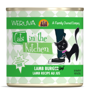Weruva Cats in the Kitchen Lamb Burgini 12/10 oz