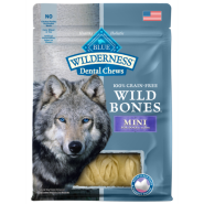 Blue Dog Wilderness Wild Bones GF Dental Chews MINI 10 oz