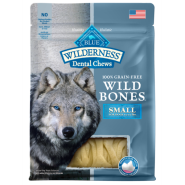 Blue Dog Wilderness Wild Bones GF Dental Chews SM 10 oz