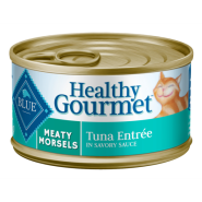 Blue Cat Healthy Gourmet Meaty Morsels Tuna 24/3 oz