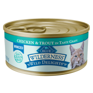 Blue Wilderness Cat Minced Adult Chicken&Trout 24/5.5 oz