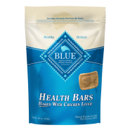 Blue Dog Health Bars Chicken Liver Crunch 16 oz