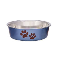 Bella Bowls Small Metallic Blueberry