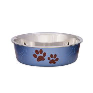 Bella Bowls Medium Metallic Blueberry