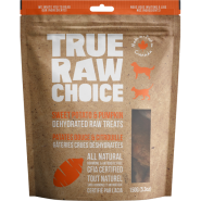 TRC Dog/Cat Dehydrated Raw Treats Swt Potato & Pumpkin 150 g