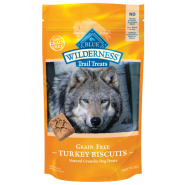 Blue Wilderness Dog Turkey Biscuits 10 oz