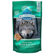 Blue Wilderness Dog Duck Biscuits 10 oz