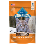Blue Wilderness Cat Treats Chicken & Turkey 2 oz