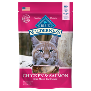 Blue Wilderness Cat Treats Chicken & Salmon 2 oz