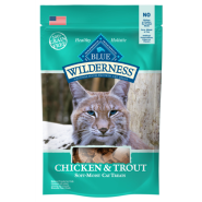 Blue Wilderness Cat Treats Chicken & Trout 2 oz