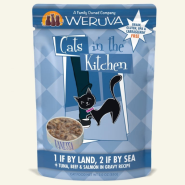 Weruva Cats in the Kitchen 1ifByLand 2ifBy Sea 12/3 oz Pouch