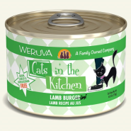 Weruva Cats in the Kitchen Lamb Burgini 24/6 oz