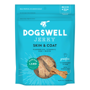 Dogswell Jerky GF Skin & Coat Lamb Treats 10 oz