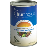 Fruitables Dog/Cat Pmpkn/Oat Weight Loss Supplement 12/425 g